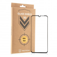 Tactical Glass Shield protective glass 5D for Redmi 9 black
