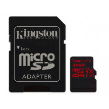 Kingston microSDHC 32GB UHS-I V30 + adaptér