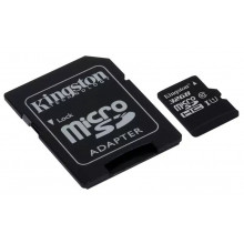 Kingston microSDHC 32GB Canvas Select UHS-I + adapter