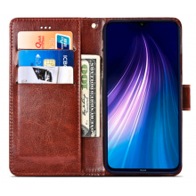 Flip case with pockets for Redmi Note 8T black