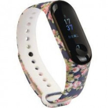 Colorful band for Mi Band 3/4 - flowers