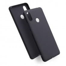 Silicon case for Mi Max 3 - black