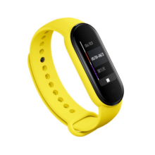 Silicone band for Mi Band 5 - yellow