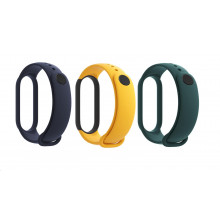 Mi Smart Band 5 Strap Set (Blue,Yellow,Green)