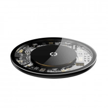 Baseus Simple Magnetic Wireless Charger Transparent